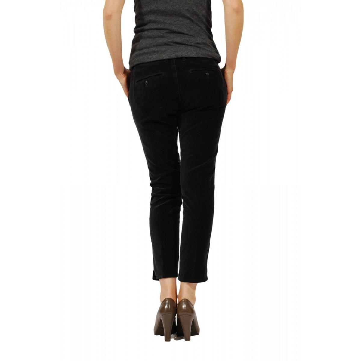 Trouser Woman Department Five - P052 T0002 132 Vellutto Strech Trouser Woman Vellut0