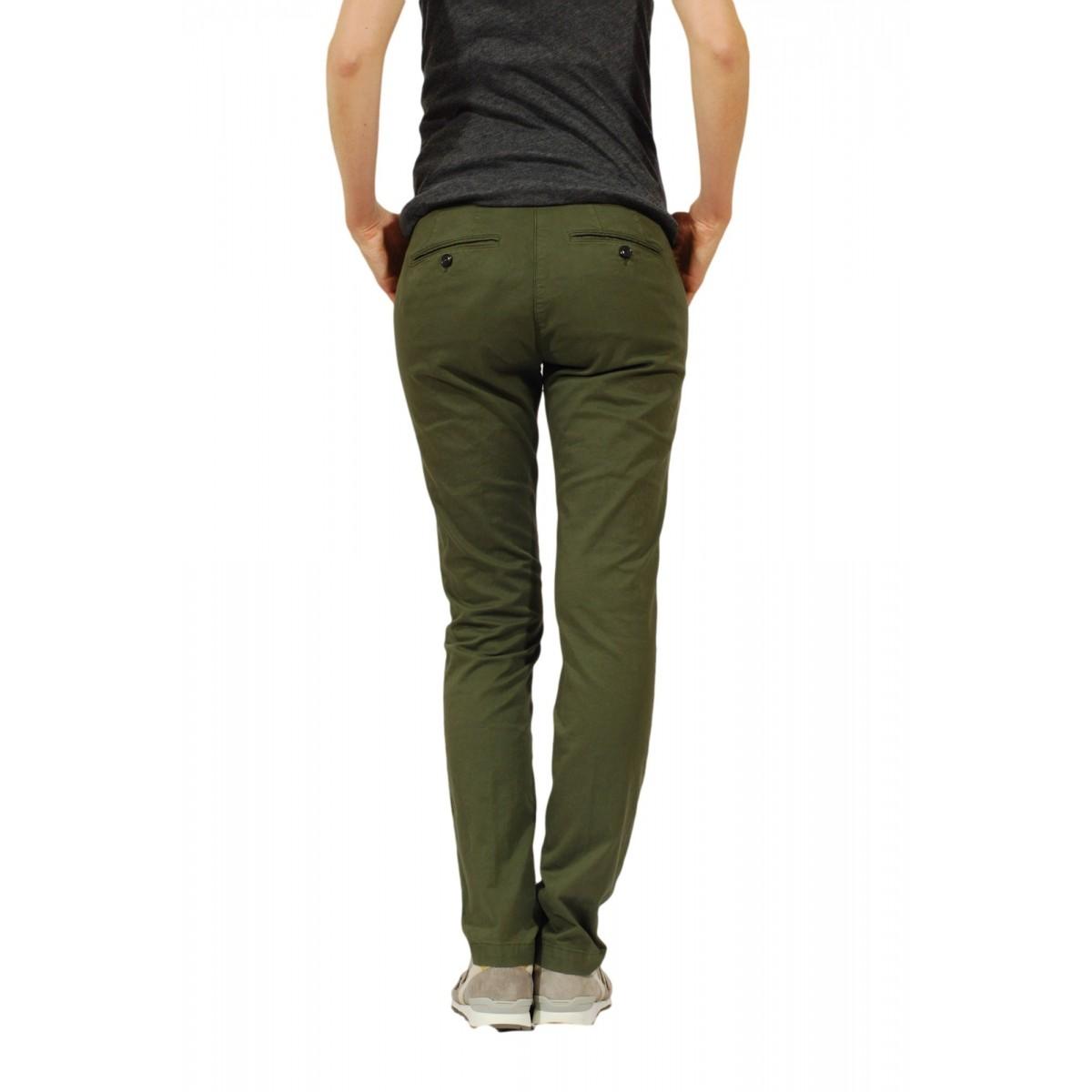 Trouser Woman Department Five - P051 T0001 460 Gabardina Strec Trouser Woman Gabardina