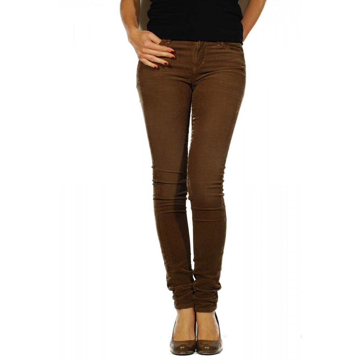 Pantalone Donna Citizens Of Humanity - Avedon Fnnl 13008-041 Velluto Pantalone Donna Vellut0