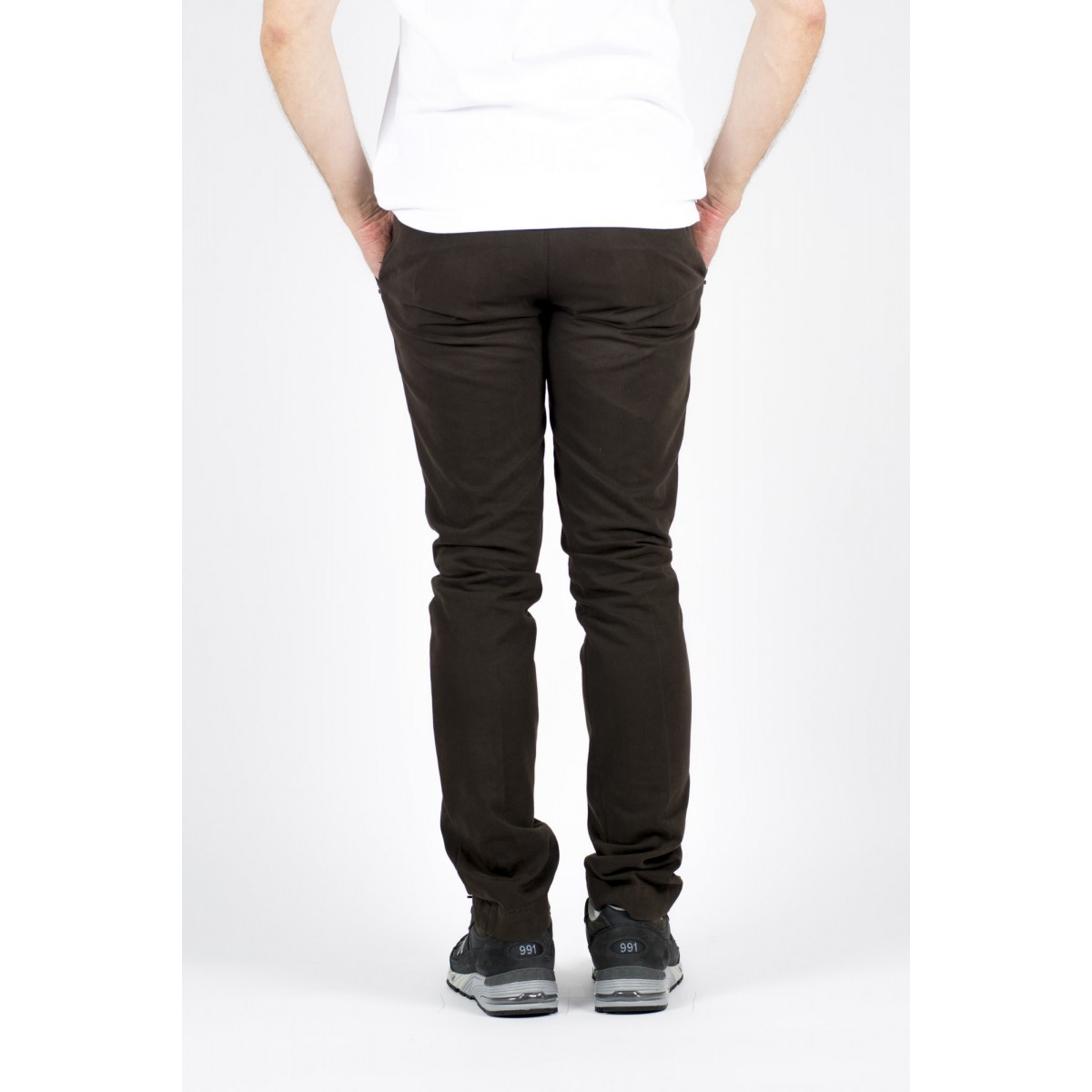 Trousers Entre Amis Man - A15 8201 502 - Tasta di moro