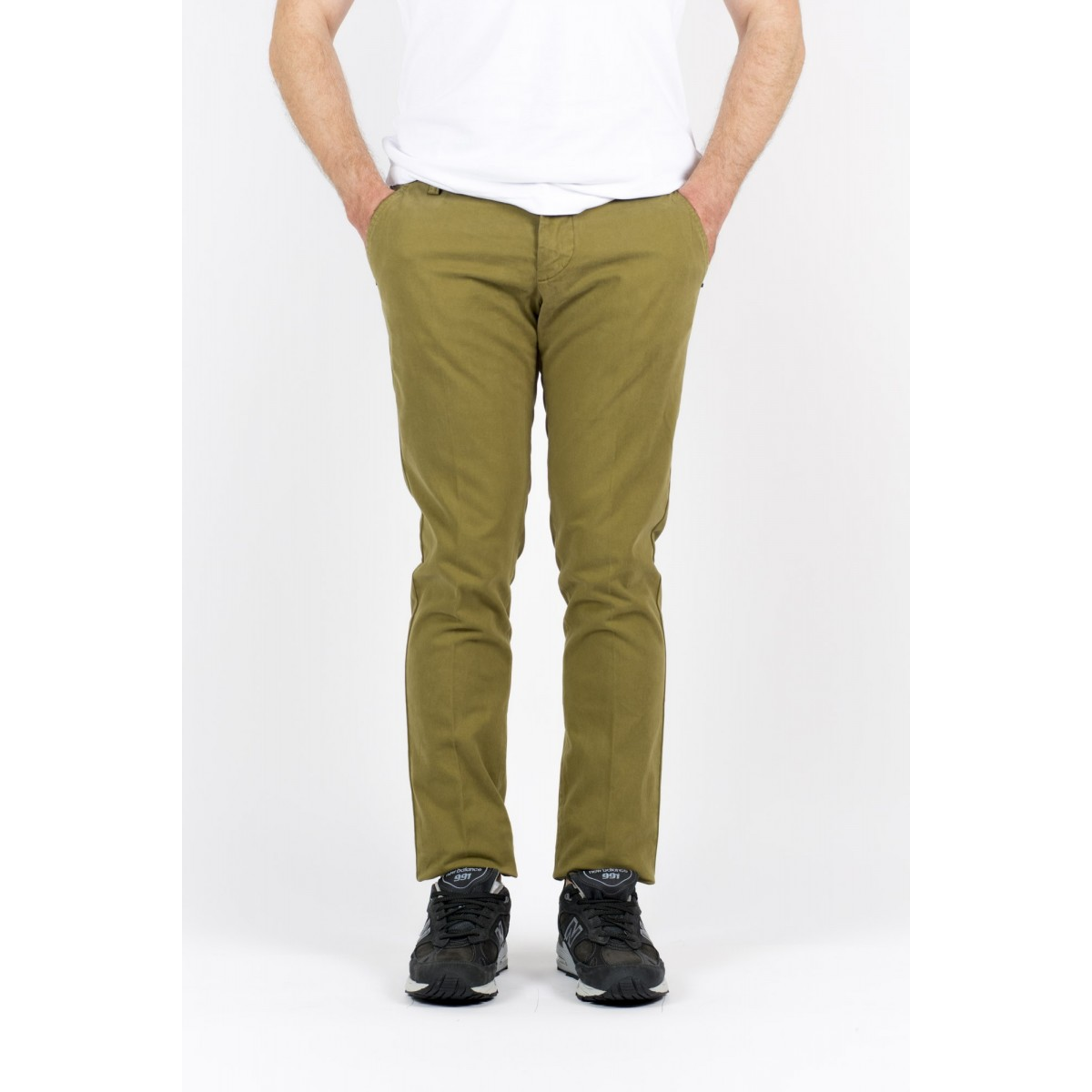 Trousers Entre Amis Man - A15 8201 903 - Oliva
