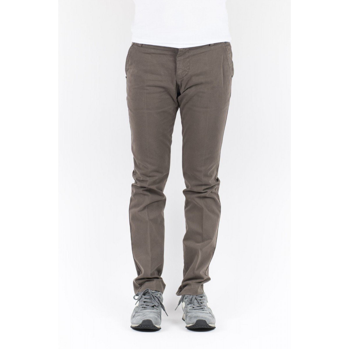 Trousers Entre Amis Man - A15 8201 501 - Cioccolato