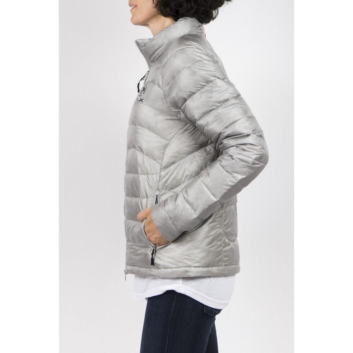 Down Jacket Polo Ralph Lauren Woman - V30Ioexpj659 Silver- B0511