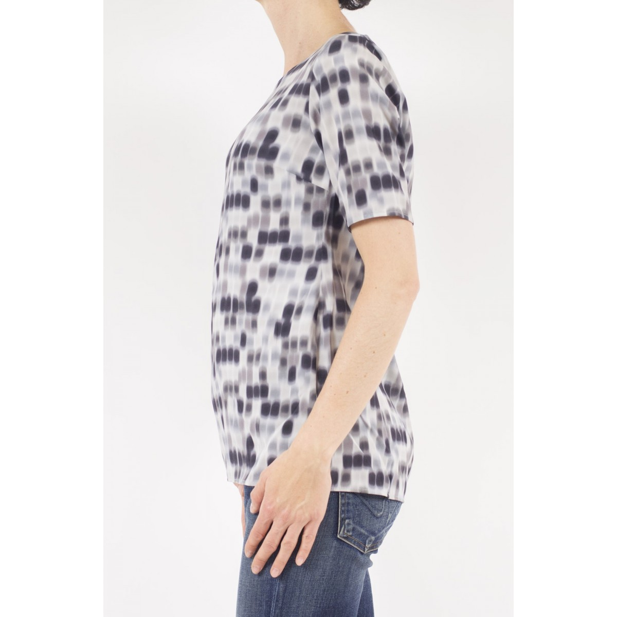 T-Shirt Woman Kangra - 7825/01 29 - grigio