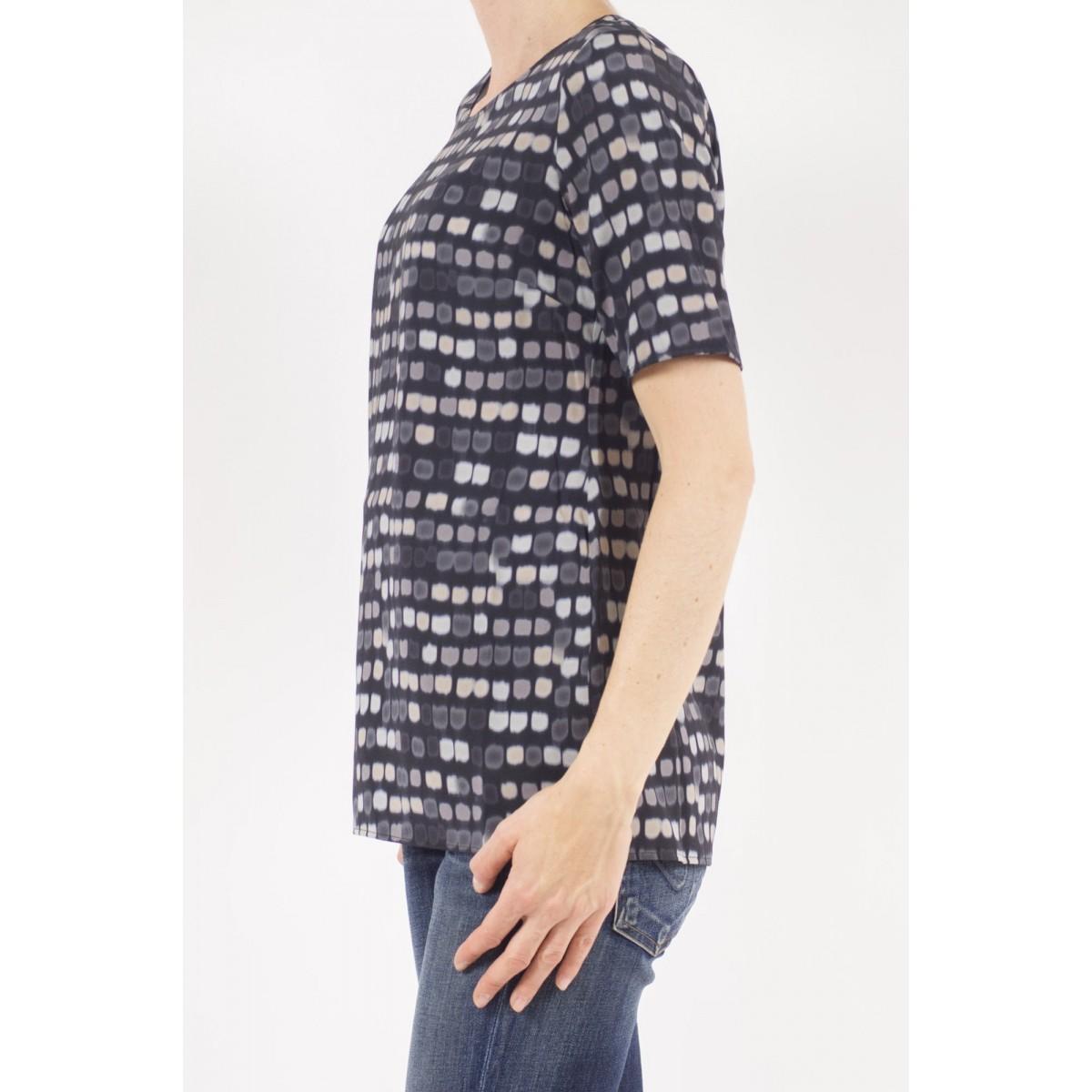 T-Shirt Woman Kangra - 7825/01 13 - Nero
