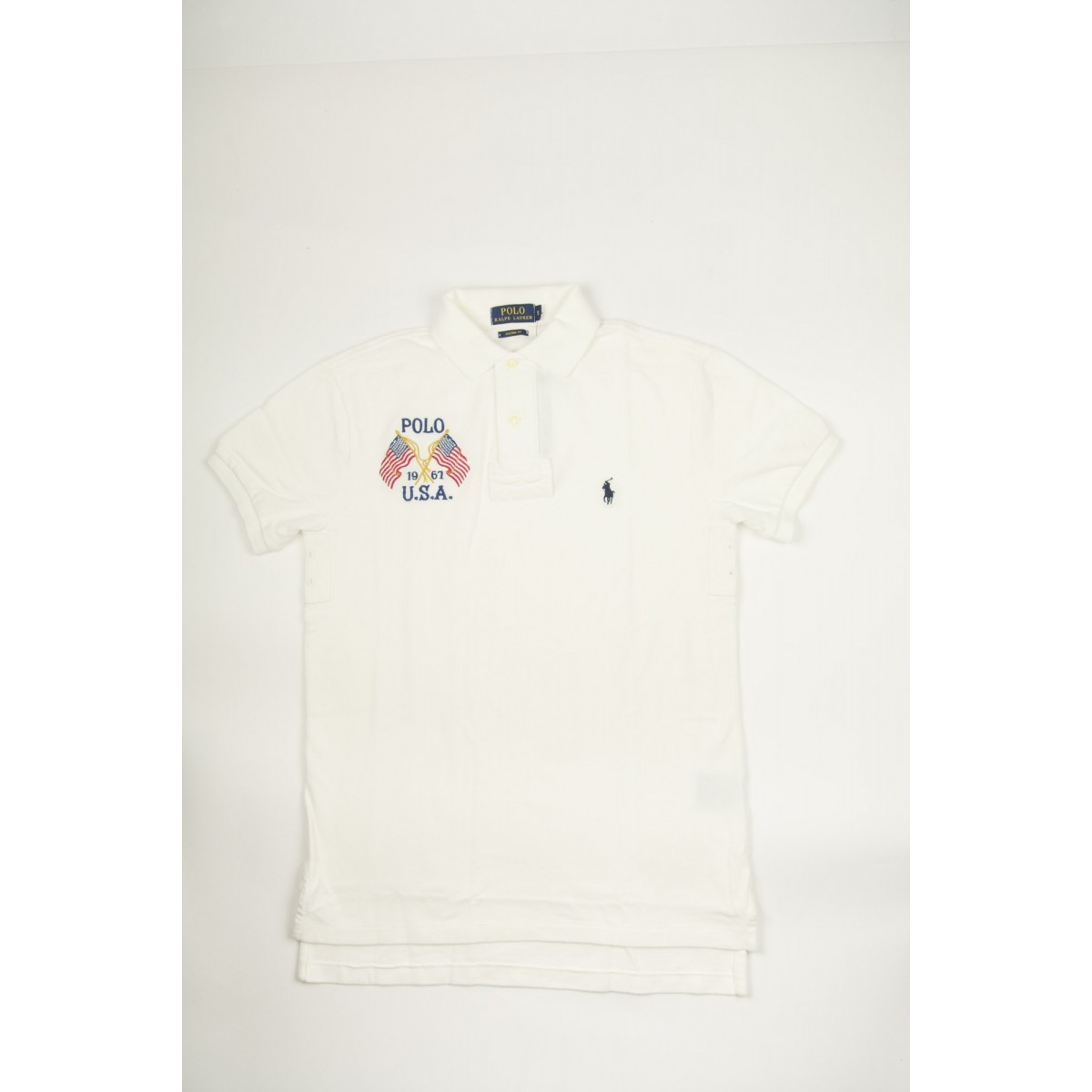 Polo Short Sleeve Polo Ralph Lauren - A12Kj602C8312 A1240 - crema