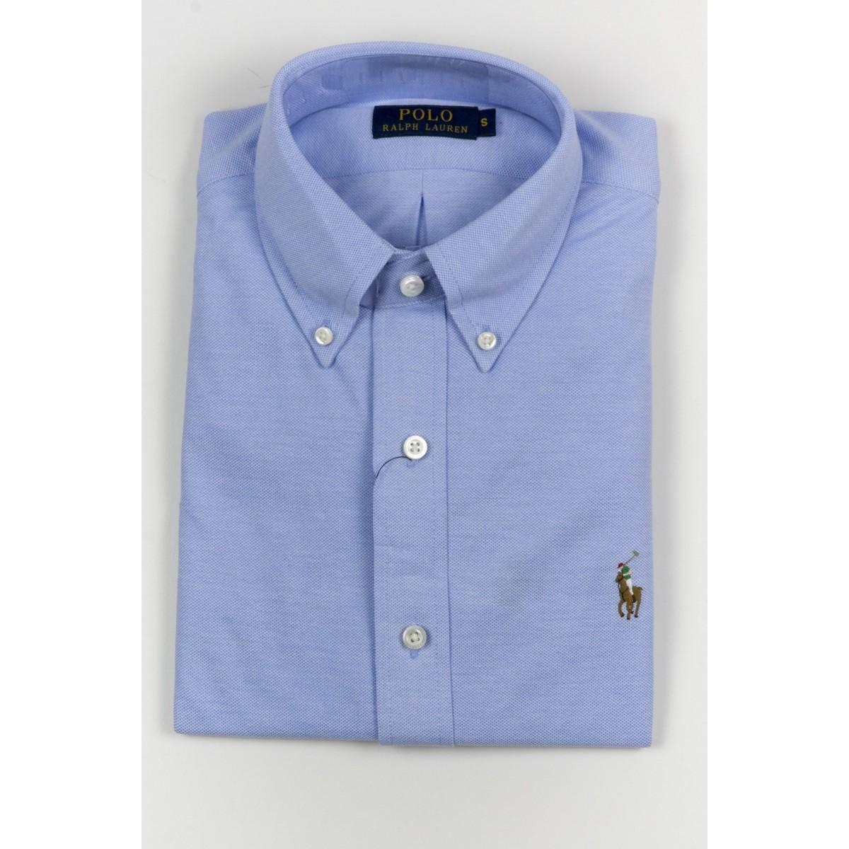 Shirt Ralph Lauren Man - A18Kscn7Cggfq D4QXC - azzurro