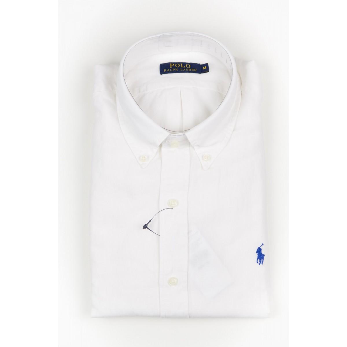 Shirt Ralph Lauren Man - A04Wbdplltime A1000 Bianco