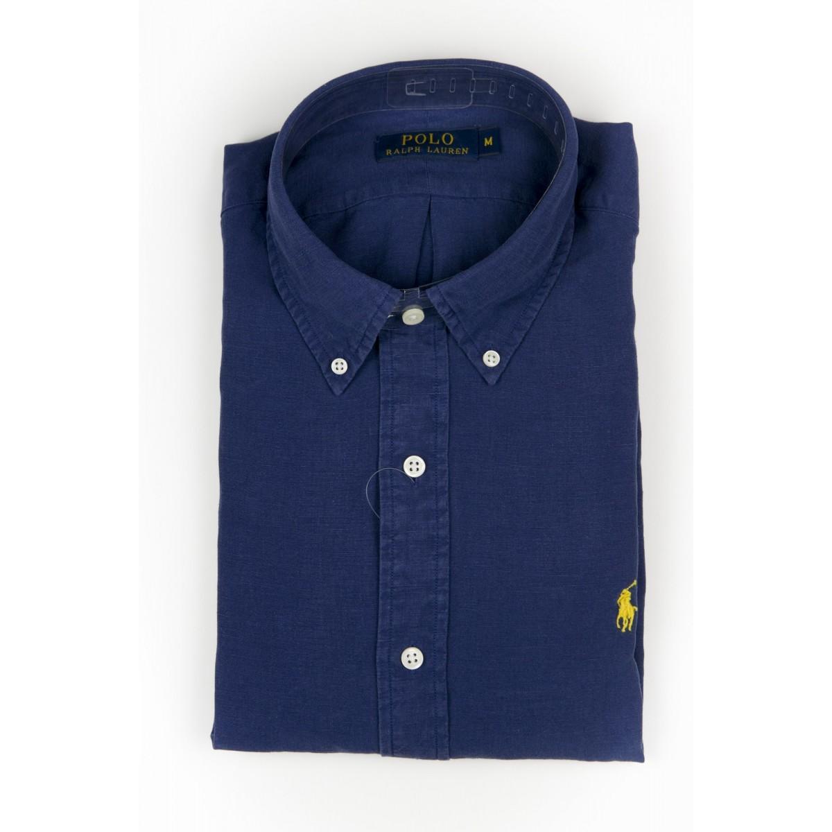 Camicia uomo Ralph lauren - A04wbdplltime A4308 - blu