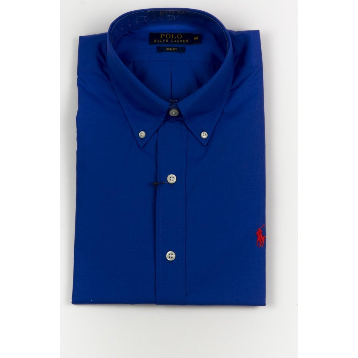 Shirt Ralph Lauren Man - A04Wslblcpos9 A4JAZ - bluette