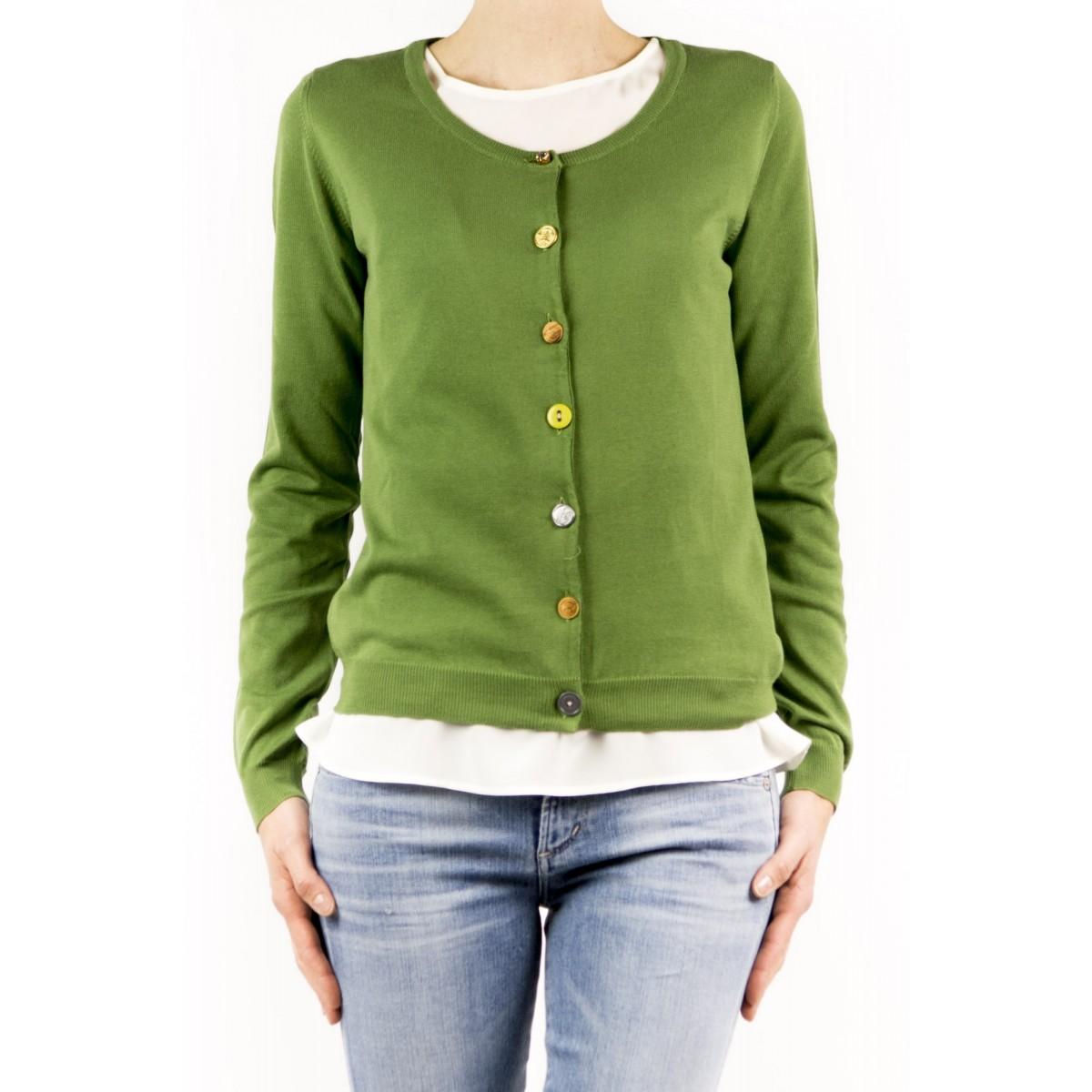 Cardigan Jucca Woman- 1120 1265 - verde