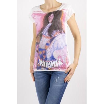T-shirt donna Bastille - 2.3 t-shirt bianco Resole