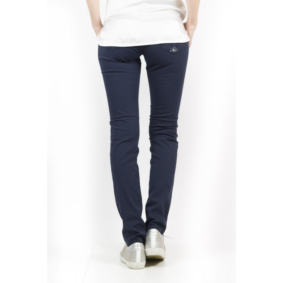Pantalone donna Roy rogers - Cate gabardina summer strech 001 - blu