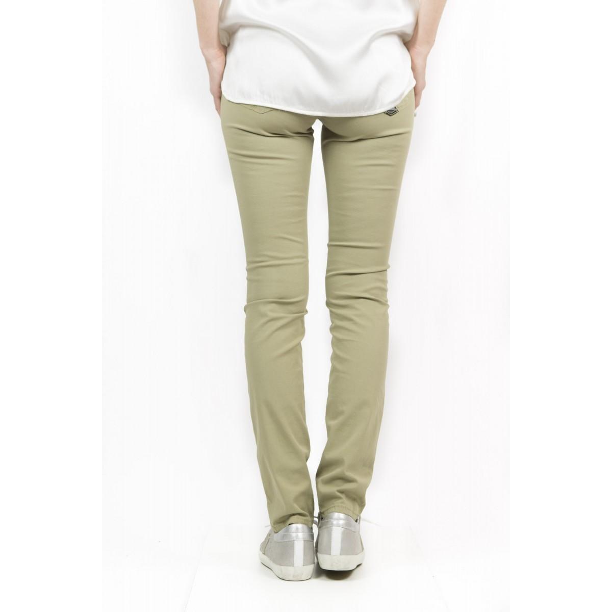 Pantalone donna Roy rogers - Cate gabardina summer strech 081 - kaky