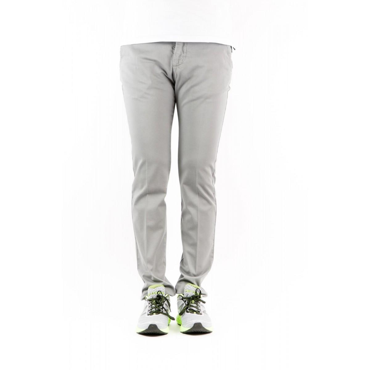 Pantalone uomo Entre amis - 8201 292l17 gabardina strech 0303 - grigio