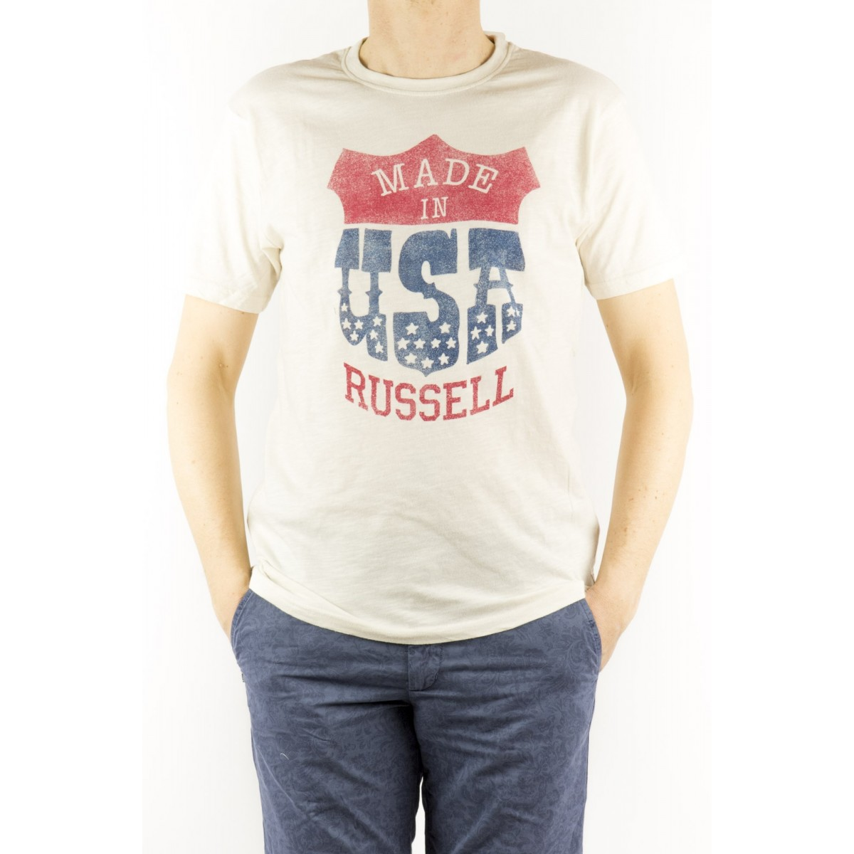 T-Shirt Russell Athletic Vintage - Russell Athletic Vintage A5 615 - 1
