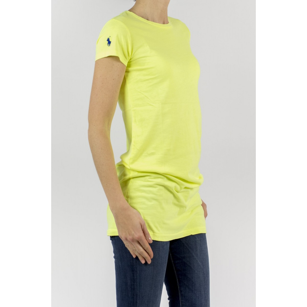 T-shirt donna Ralph lauren - V38iccrtc8410 B7418 - giallo