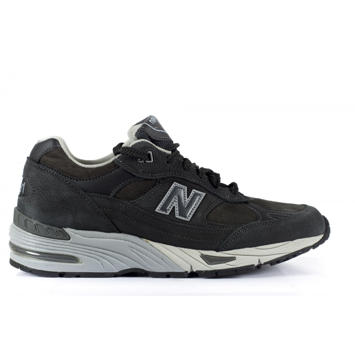 Shoes New Balance Man - 991 Nabuk Made In Uk NDG - Antracite