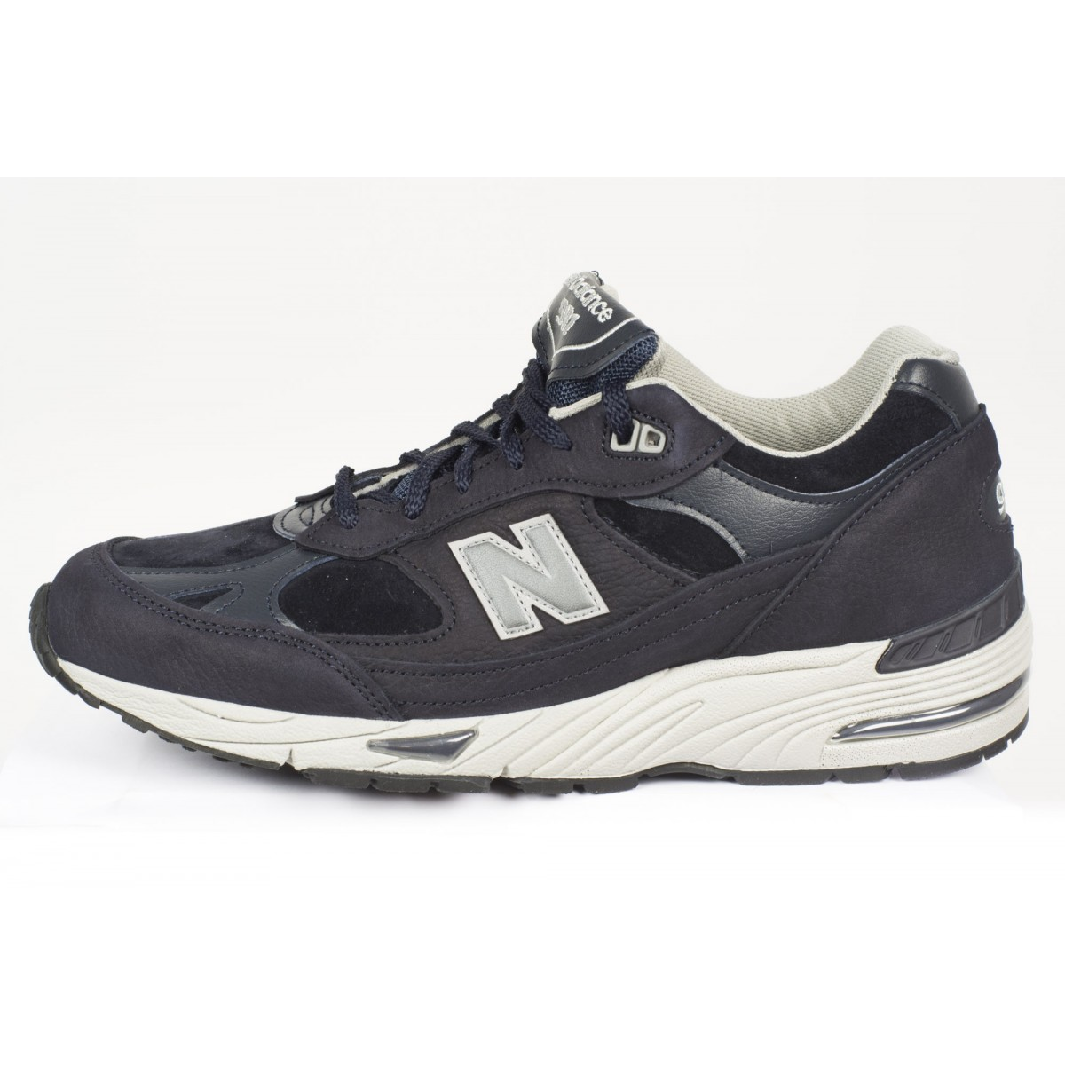 Schuhe New Balance Manner - 991 Nabuk Made In Uk NPN - Navy