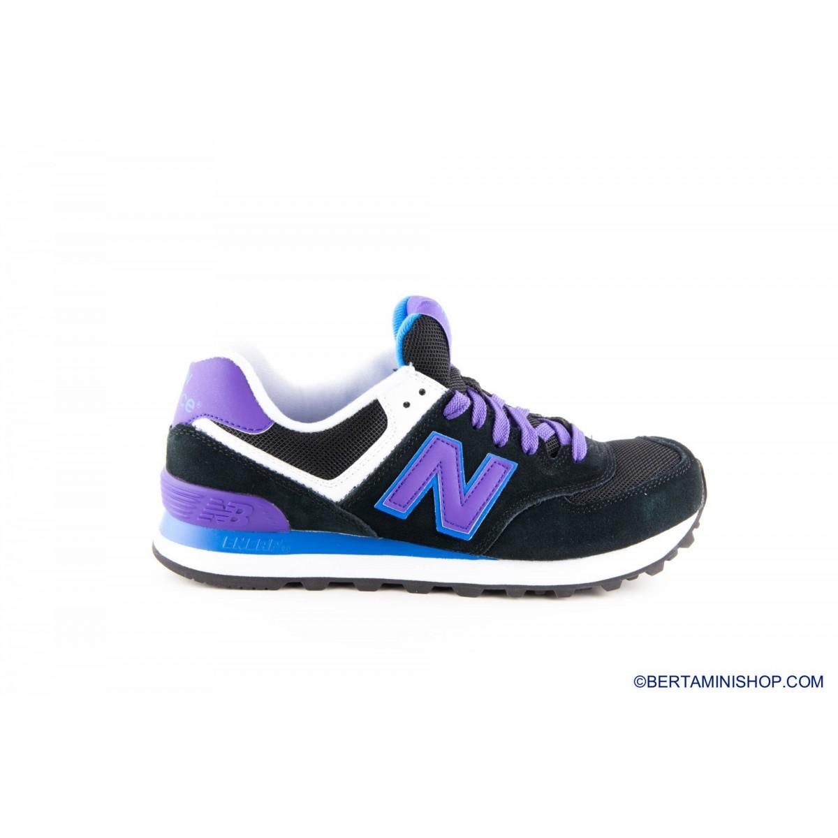 Schuhe New Balance - WL 574 MOX - nera viola