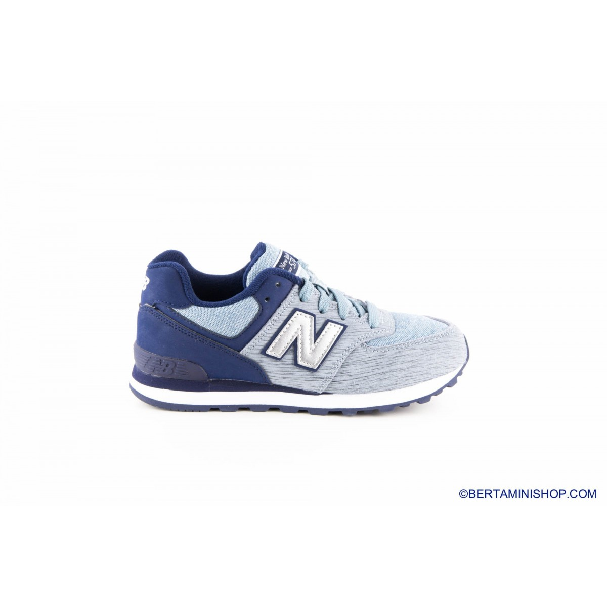 Shoes New Balance Kid - KL 574 YG P - grigia