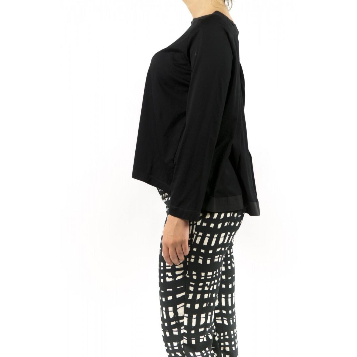 T-Shirt Erika Cavallini - Semicouture - P5I128 009 - nero