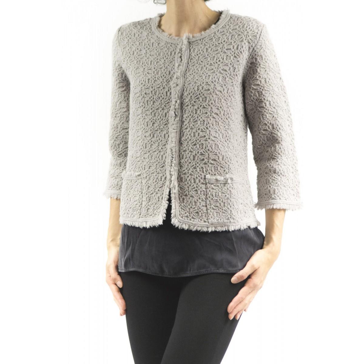 Pullover Kangra Frauen - 9700/58 25 - GREIGE