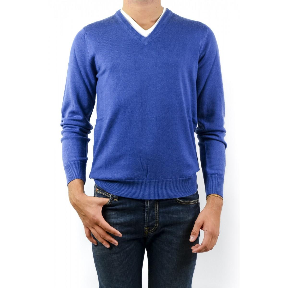 Jumper Kangra Man - 9020/02 18 - Azzurro jeans