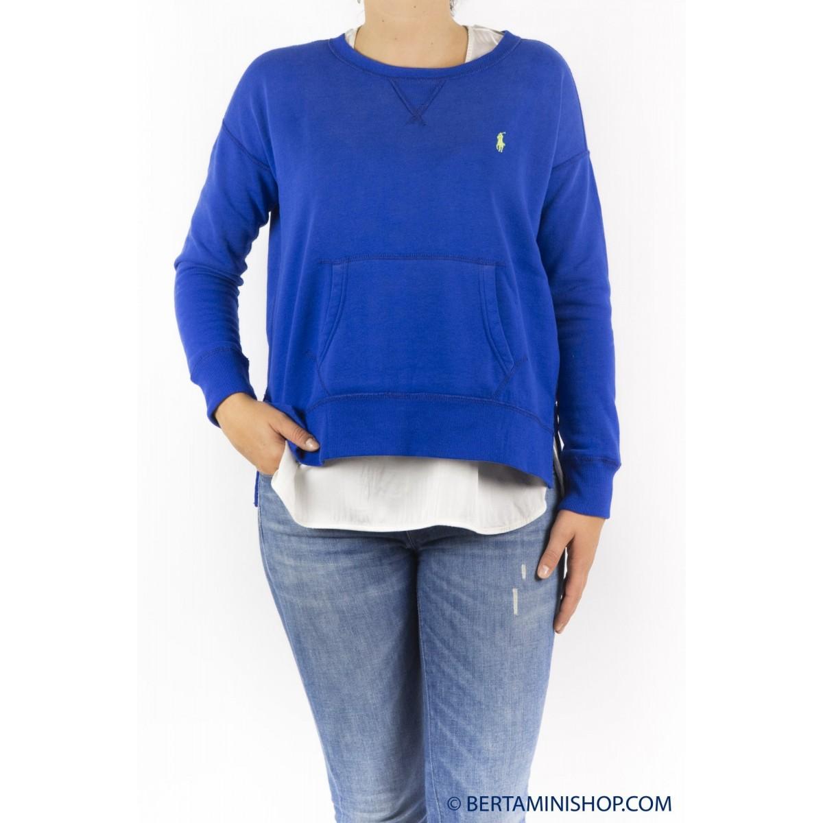Sweatshirt Ralph Lauren Frauen - V38Id3D0Bd3Lo B4D40 - Royal