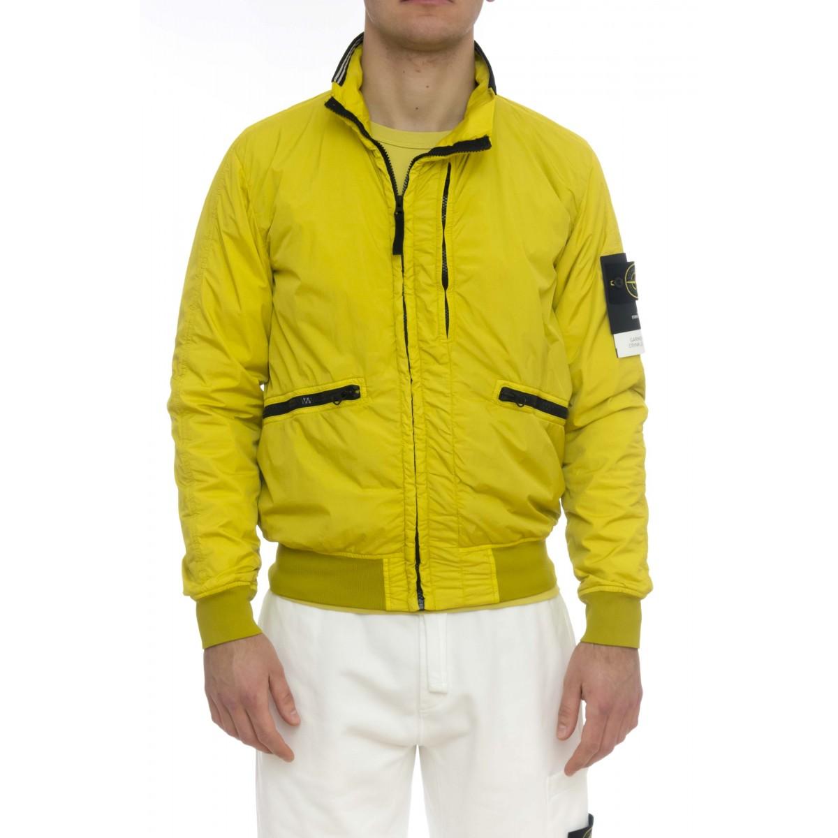 Giubbini - 40930 crinkle nylon accoppiato jersey