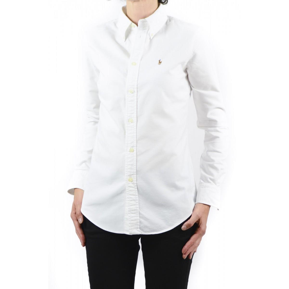 Camicia donna Ralph lauren - V33iohrsc9203 B11D1 - bianco
