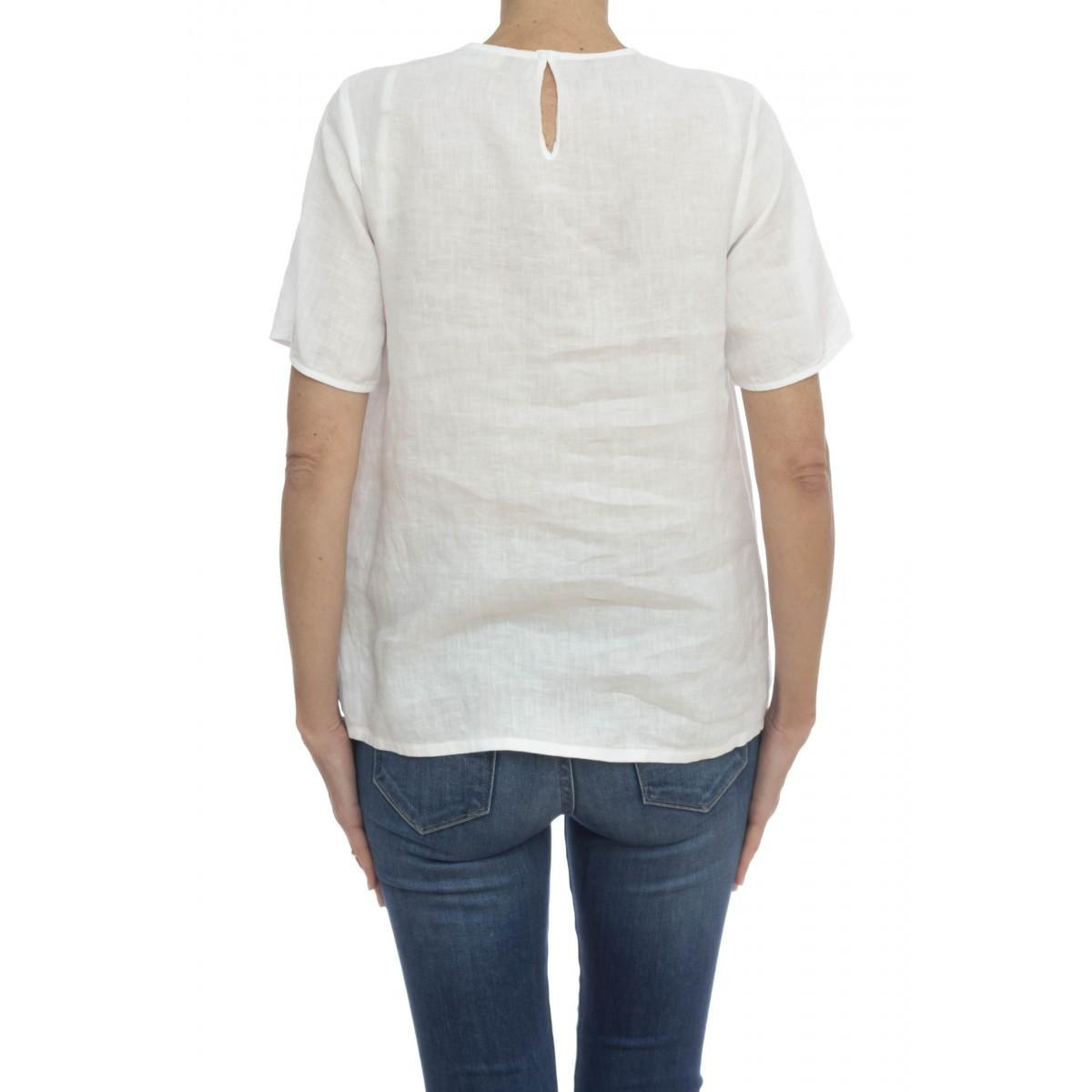 Camicia donna - Kaula l7020  camicia lino