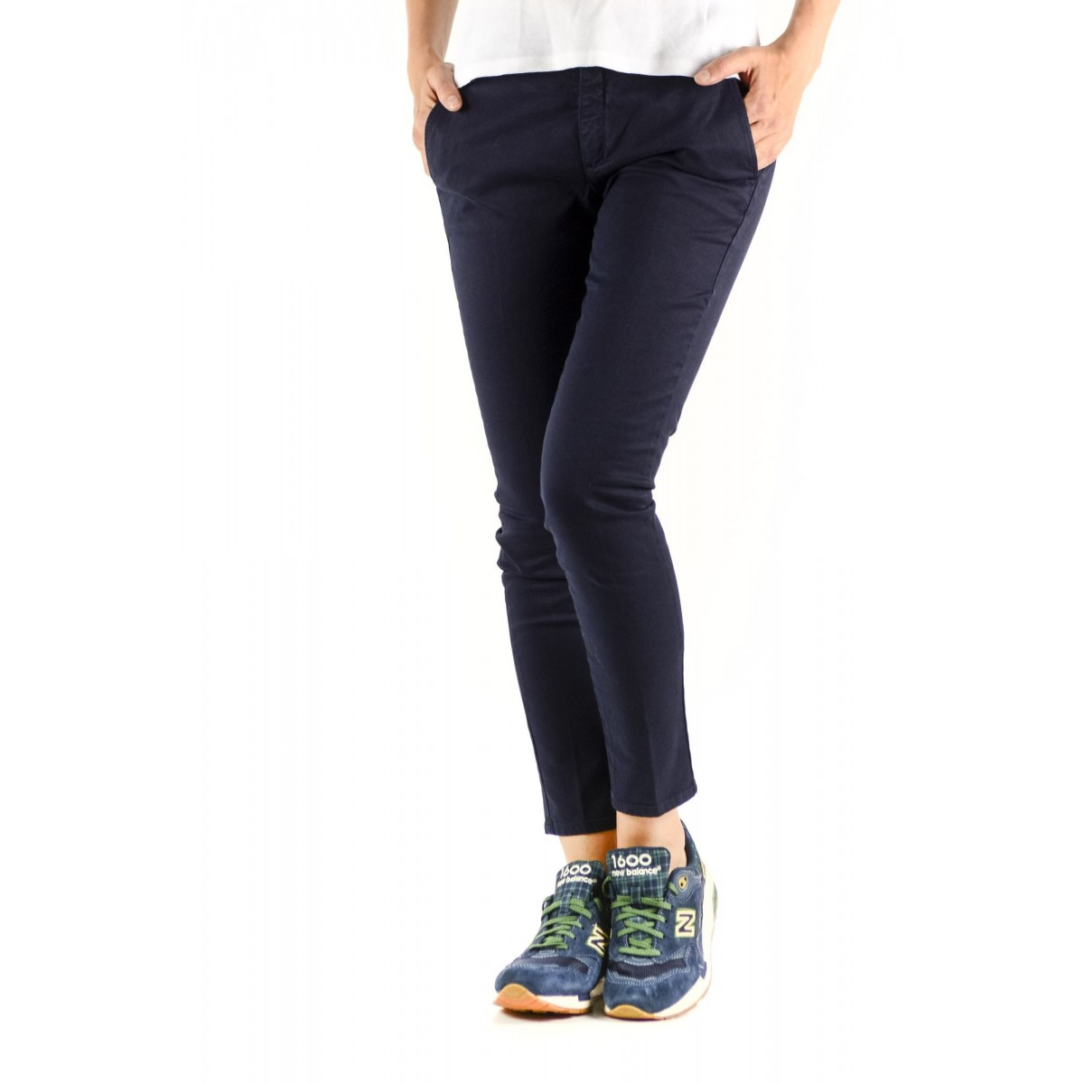 Trousers Department Five Woman - D11P52 T1101 146 - Blu