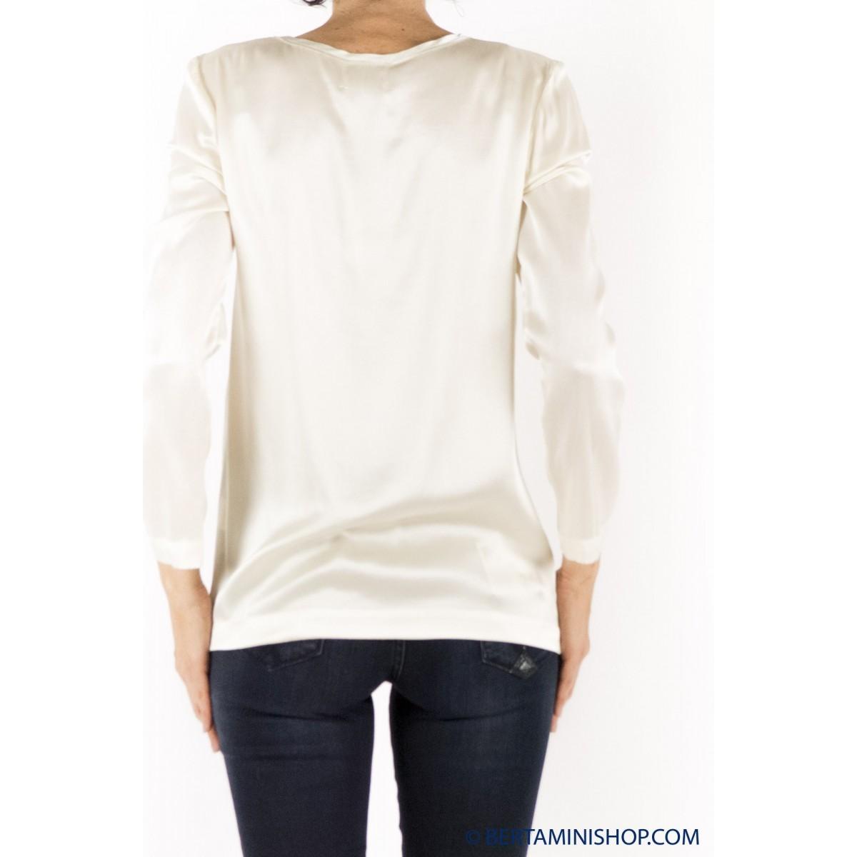 T Shirt Long-Sleeves Jucca Woman - 2008 078 - burro