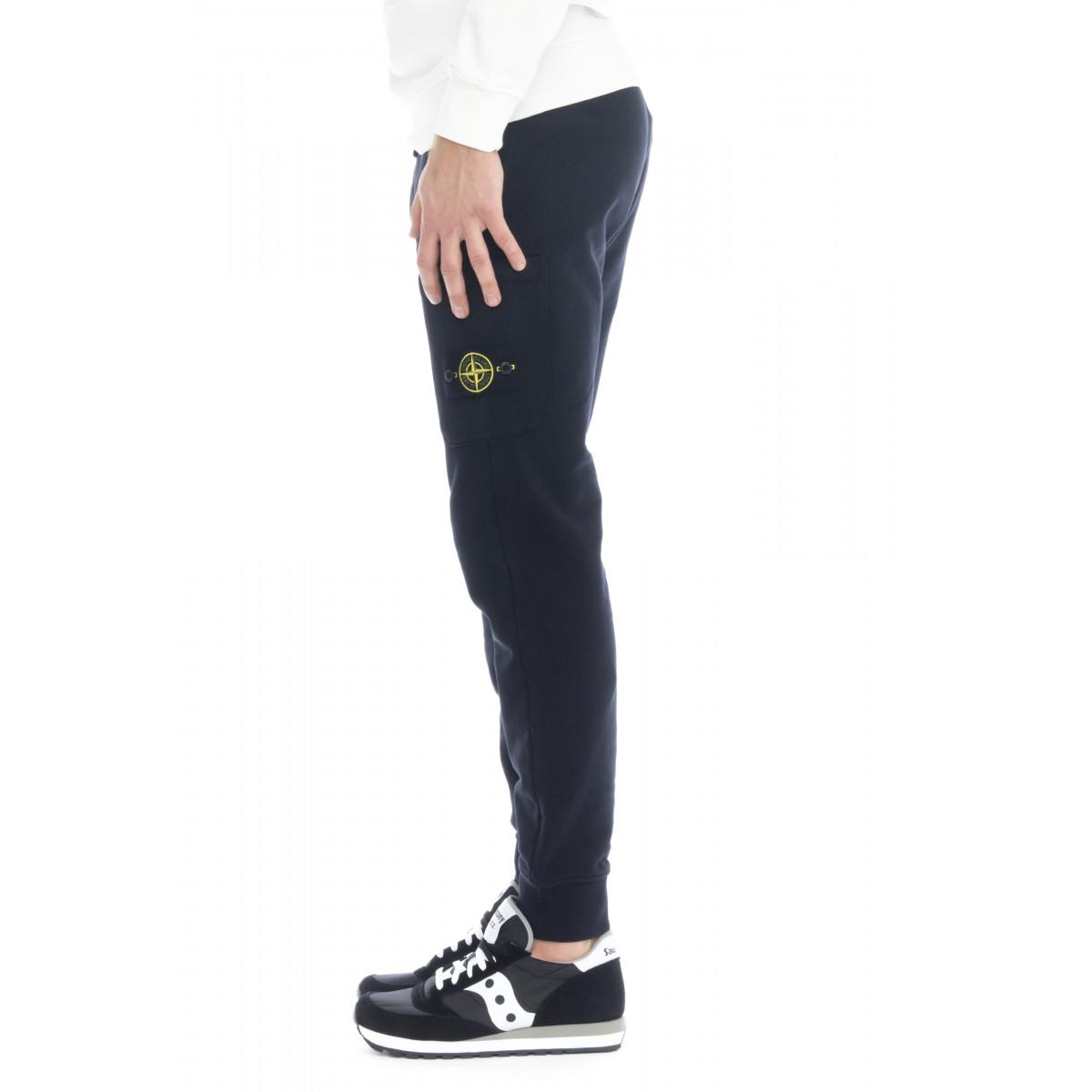 Pantalone uomo - 60351 pantalone felpa tasconato