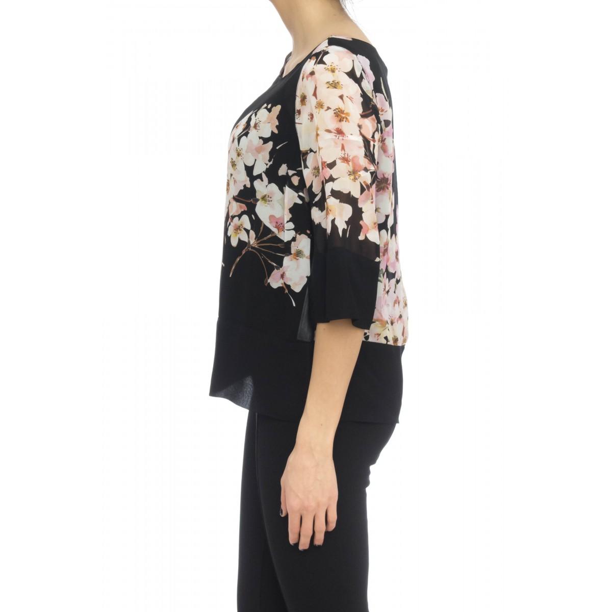 Camicia donna - 271c camicia stampa bocciolo