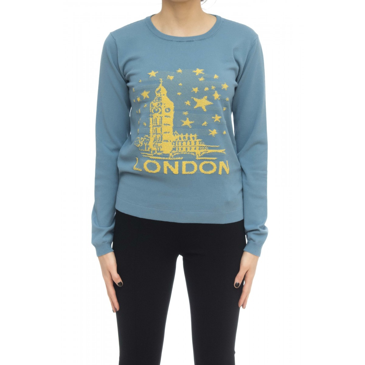 Felpa donna - 3380 maglia londra
