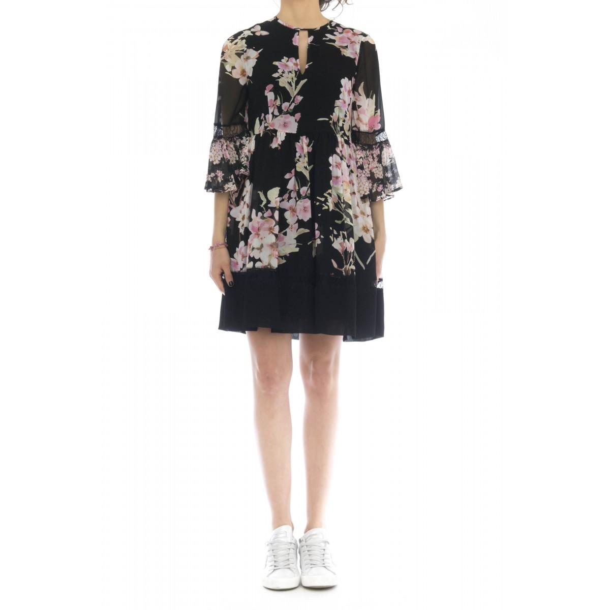Vestito corto donna - 2716 abito stampa