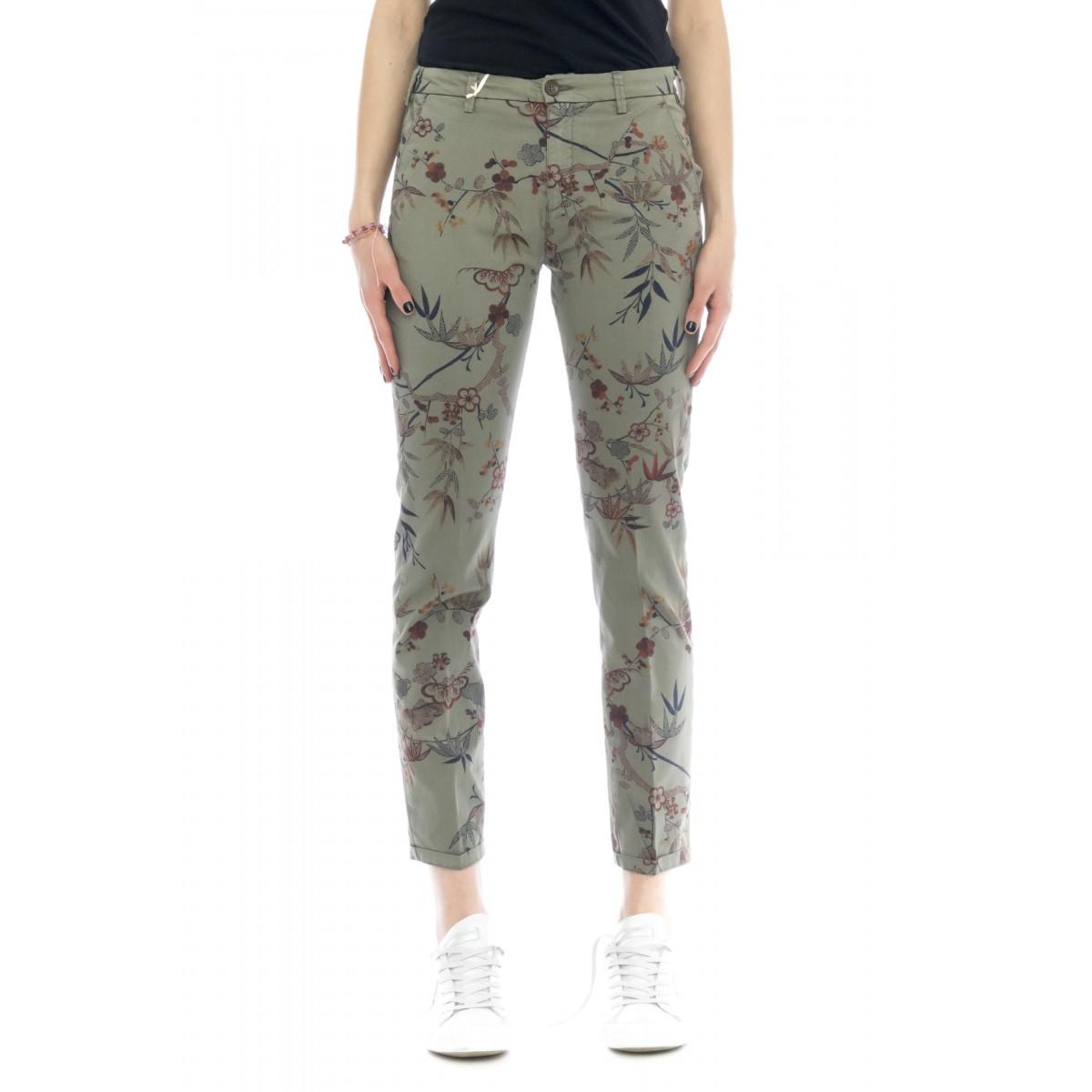 Pantalone donna - Briana 4285 skinny stampa