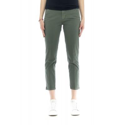 Pantalone donna Melitas 4200 tinta unita 78