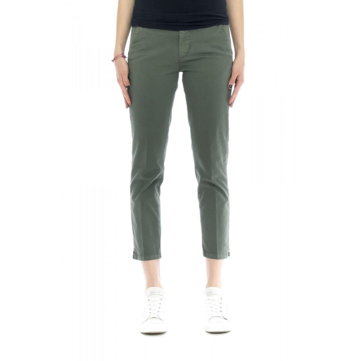 Pantalone donna - Melitas 4200 tinta unita 7/8
