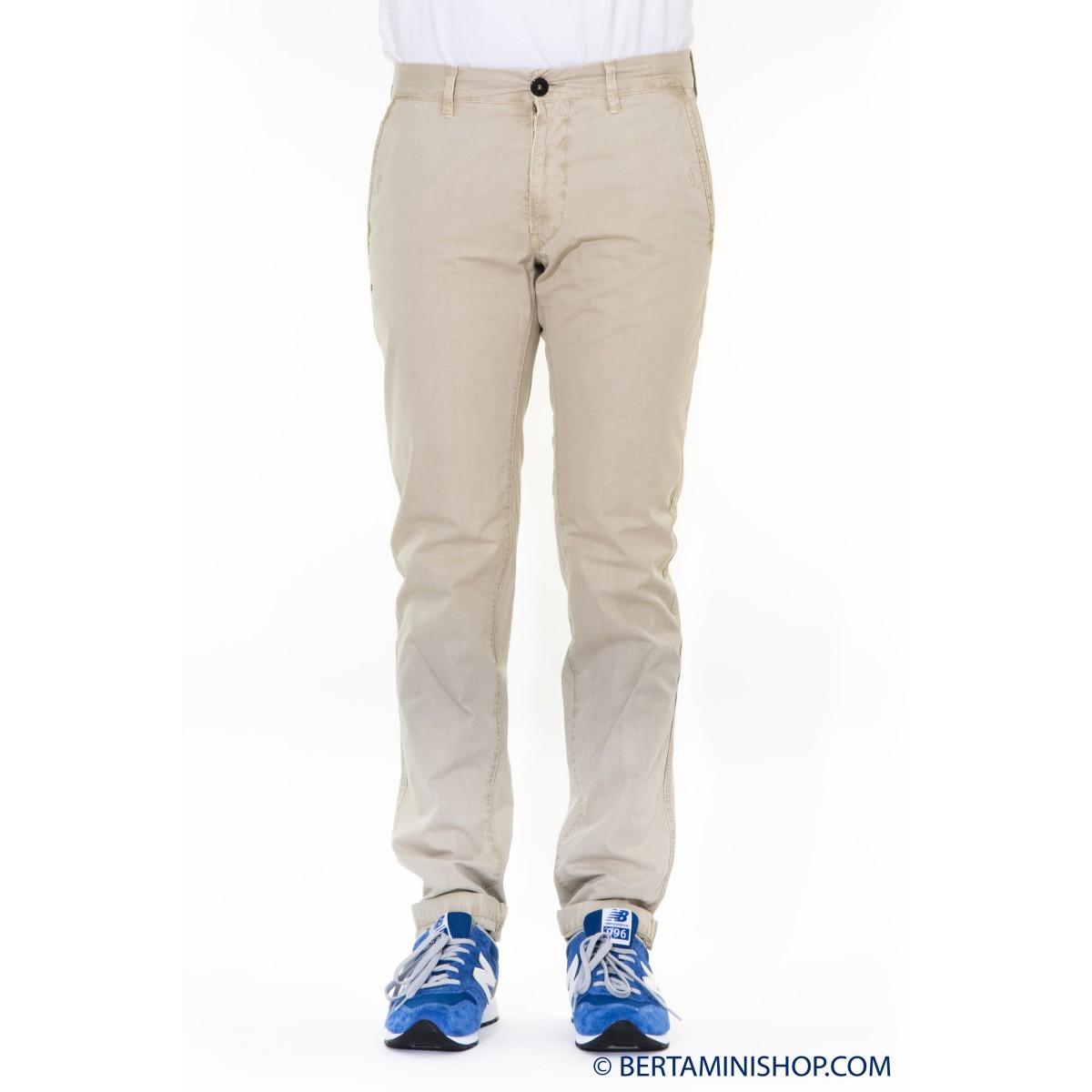 Trousers Stone Island - 302WN Slim V0195 - SABBIA