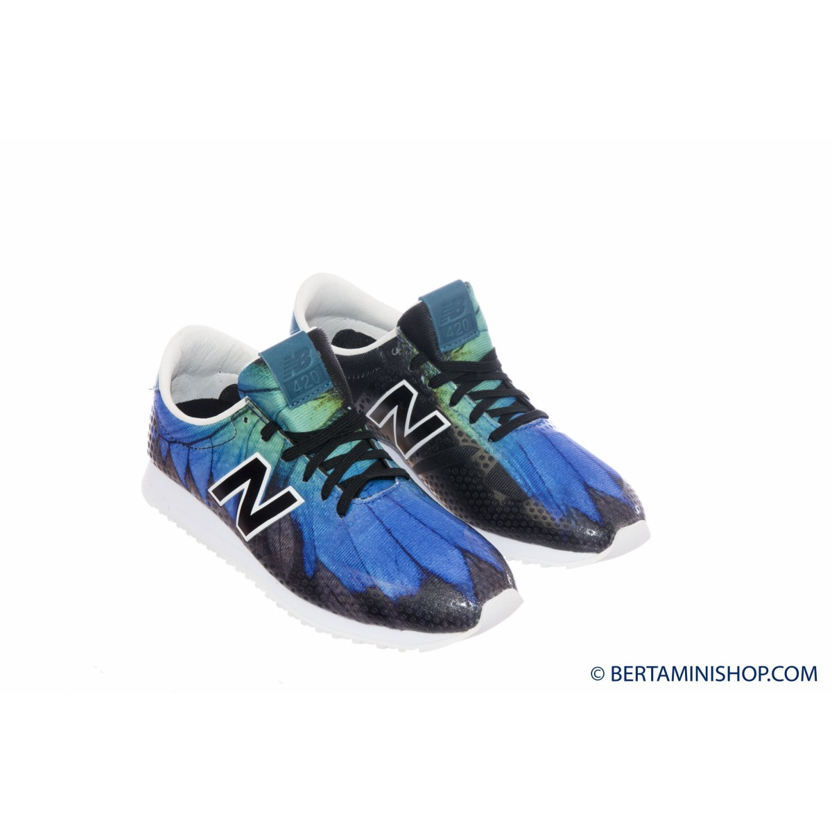 Shoes New Balance Woman - WL 420 Running '70 DFB - Nero bluette