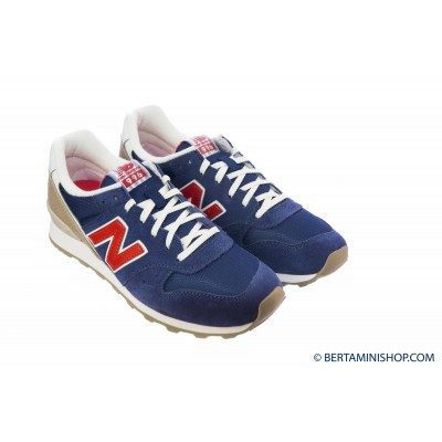 Shoes New Balance Woman - WR 996 HG - Blu rosso