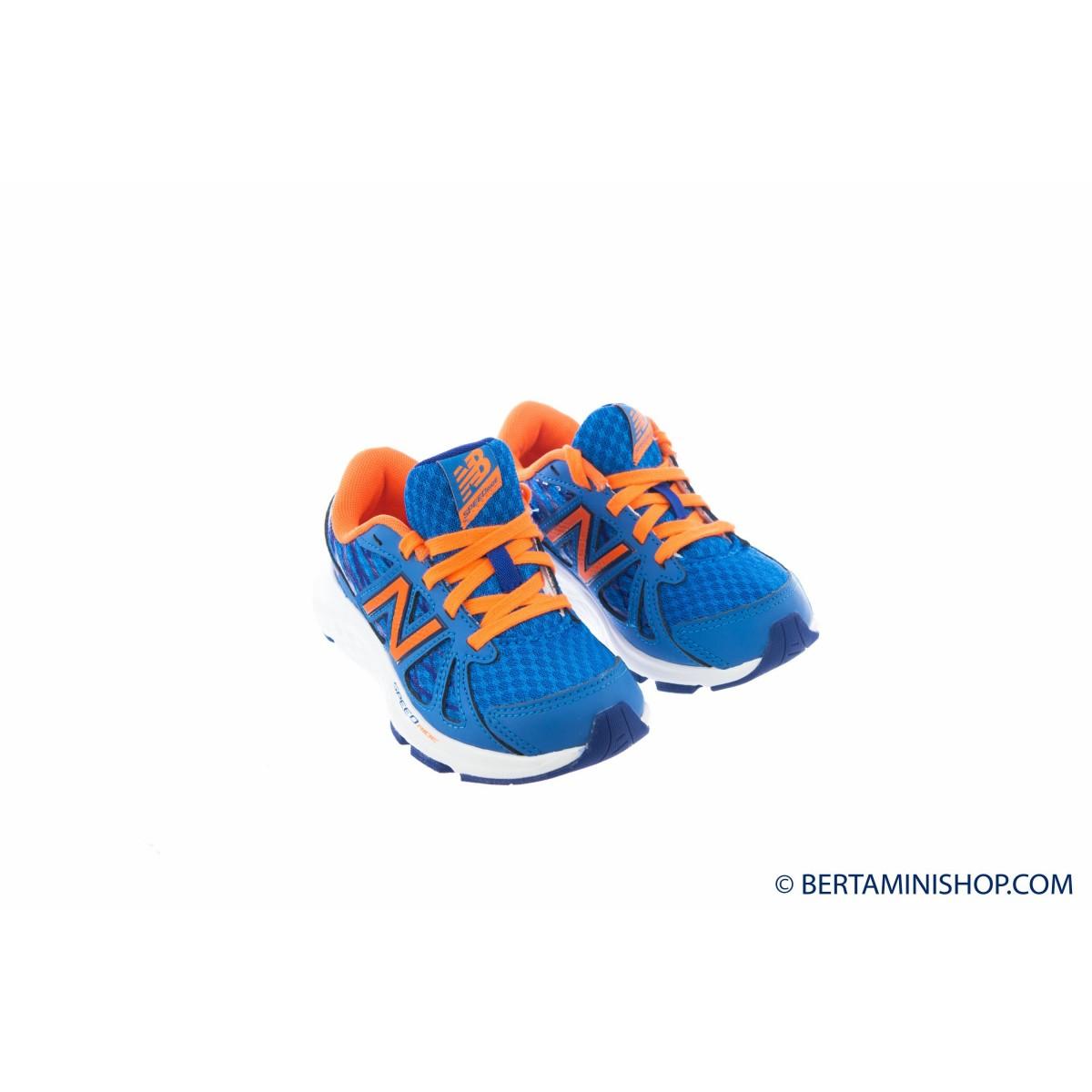 Schuhen New Balance Kid's - KJ690 Pre Scool PT - Bluette