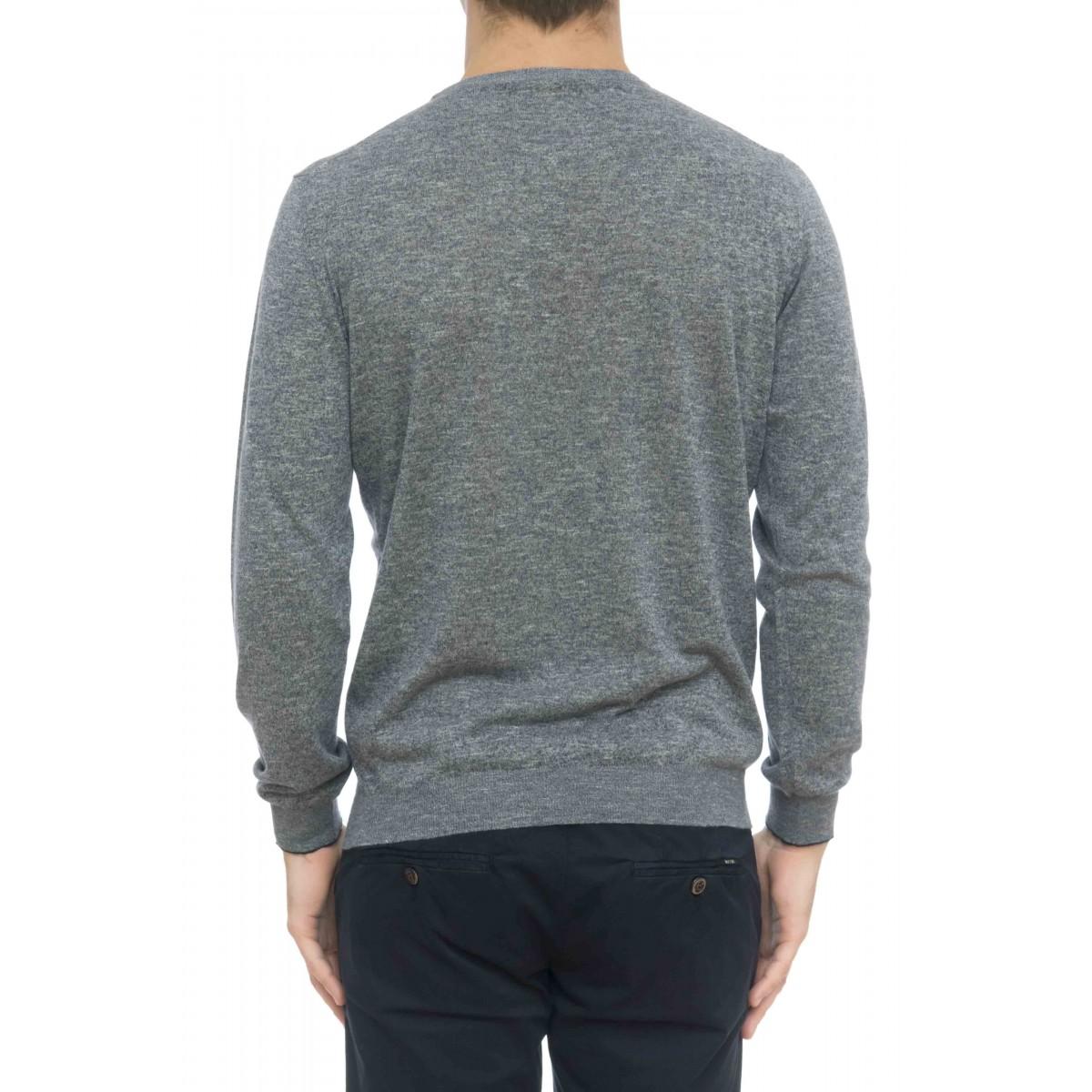 Maglia uomo - 7014/01 maglia girocollo melange