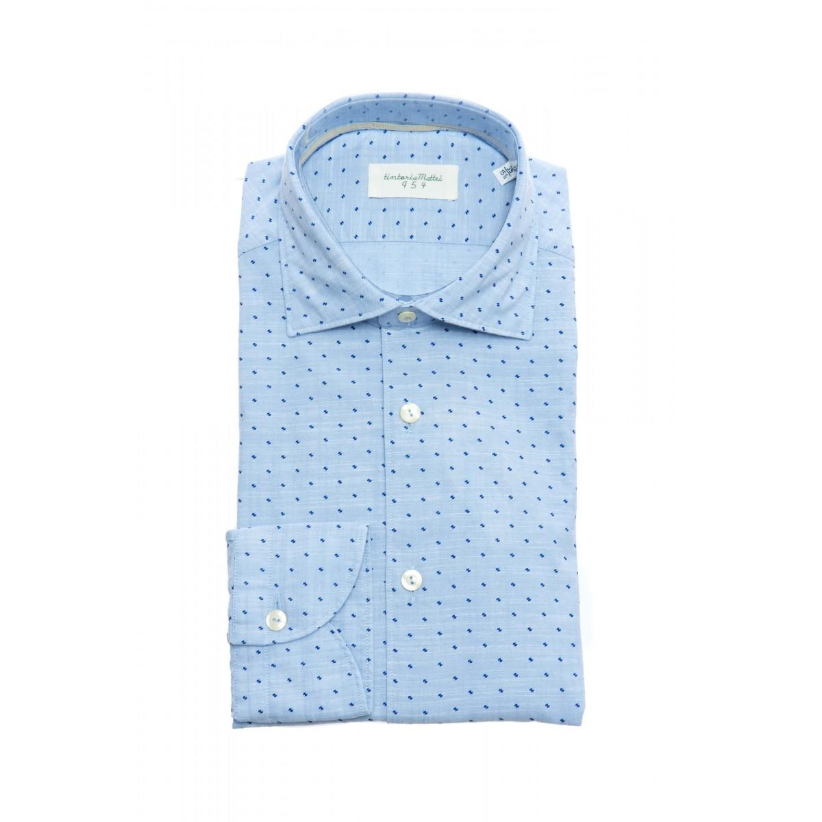 Camicia uomo - T0r njw cmicia slim puntini