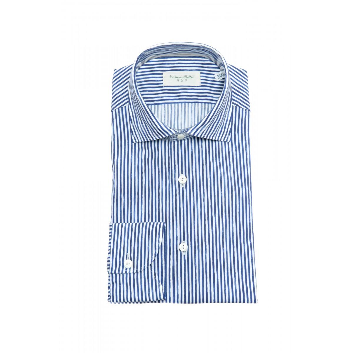 Camicia uomo - U8s njw camicia riga lavata