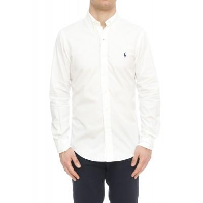 Camicia uomo - 741788 camicia tinto capo chino slim