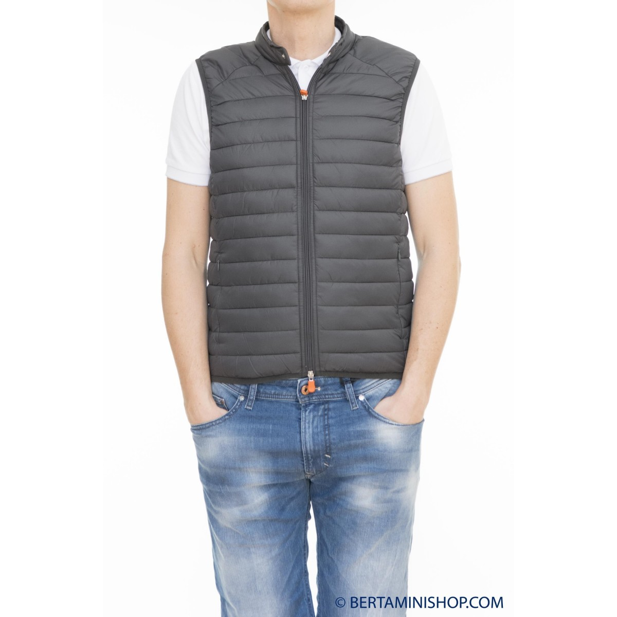 Weste Save The Duck Manner - D8072M Giga 2 Gilet 0149 - Iron grey